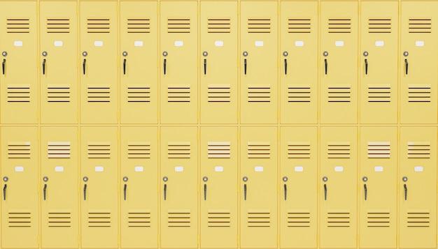 School locker achtergrond