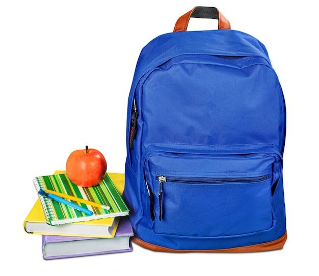 School, rugzak, backpacker.