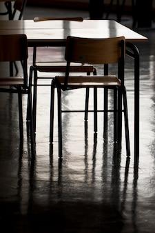 School stoelen