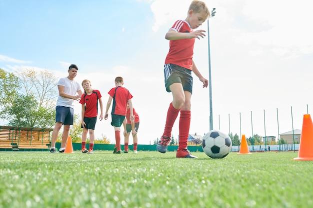 School voetbalteam