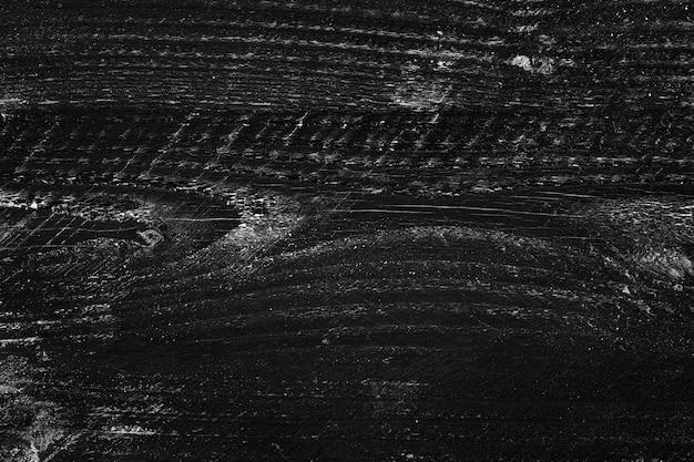 Schoolbord houten plank, detail van zwart houten materiële textuuroppervlakte
