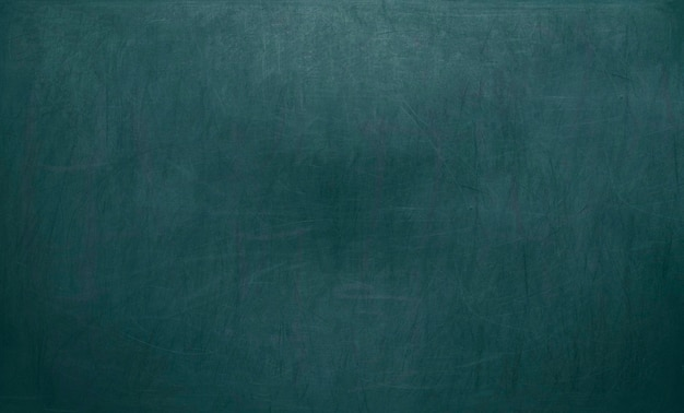 Schoolbord / schoolbord textuur. leeg leeg blauw bord met krijtsporen