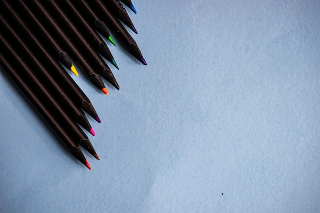 Schoolconcept met pensils