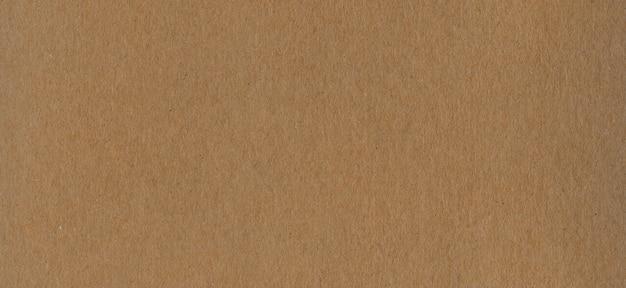 Schoon bruin kraft karton papier achtergrondstructuur.