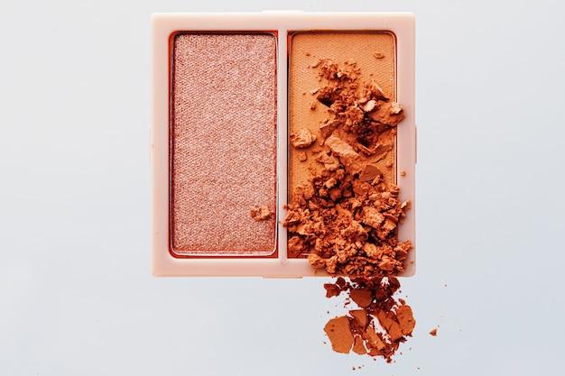 Schoonheid en make-up detail cosmetica ontwerp