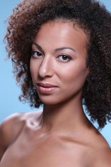 Schoonheid portret, make-up portret, make-up