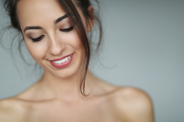 Schoonheid portret van een vrouw
