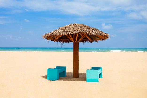 Schoonheid strand, sri lanka