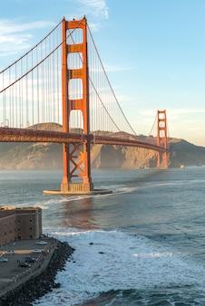 Schoonheid van de golden gate bridge