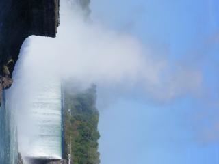 Schoonheid van de niagara falls, geweldig