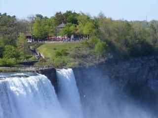 Schoonheid van de niagara falls, haasten