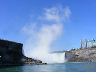 Schoonheid van de niagara falls, schoonheid