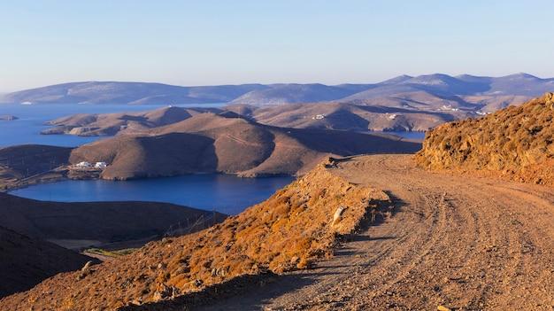 Schoonheid van griekse eilanden