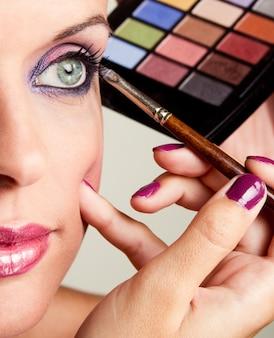 Schoonheids make-up