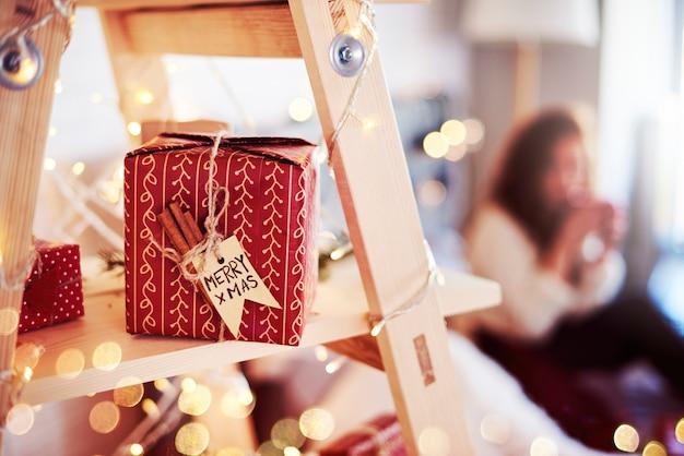 Schot van zelfgemaakte kerstcadeautjes