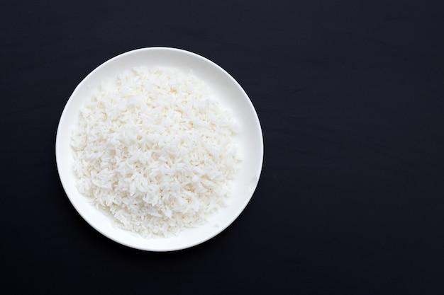 Schotel van geïsoleerde rijst