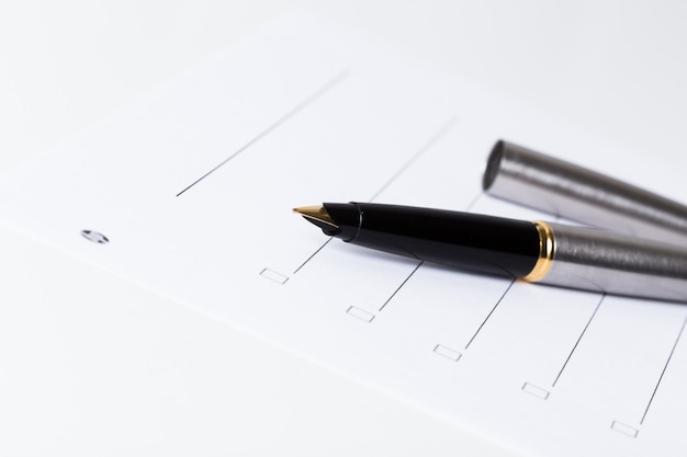 Schrijven om lijst te doen