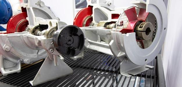 Schroefpomp voor industriële apparatuur; technische achtergrond