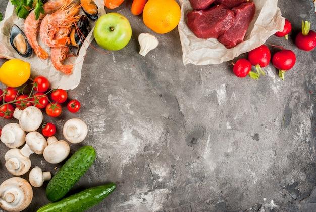 Selectie van gezonde voeding