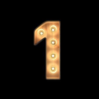 Selectiekader licht nummer 1