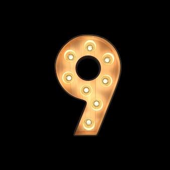 Selectiekader licht nummer 9