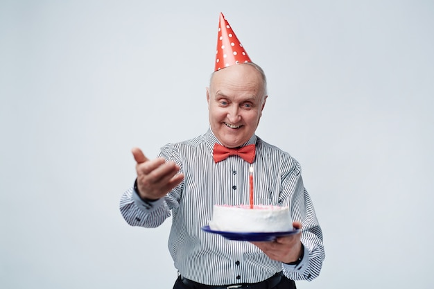 Senior viert verjaardag