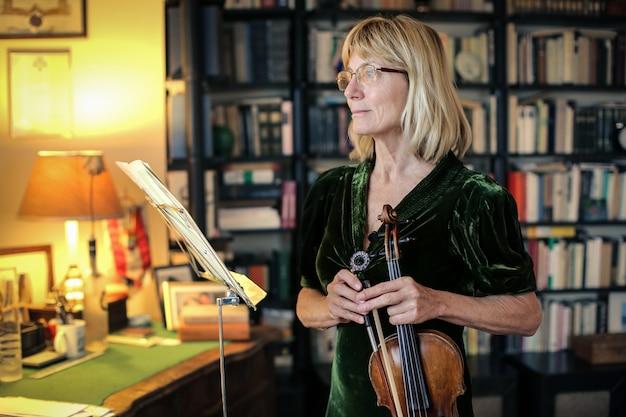 Senior vioolmuzikant