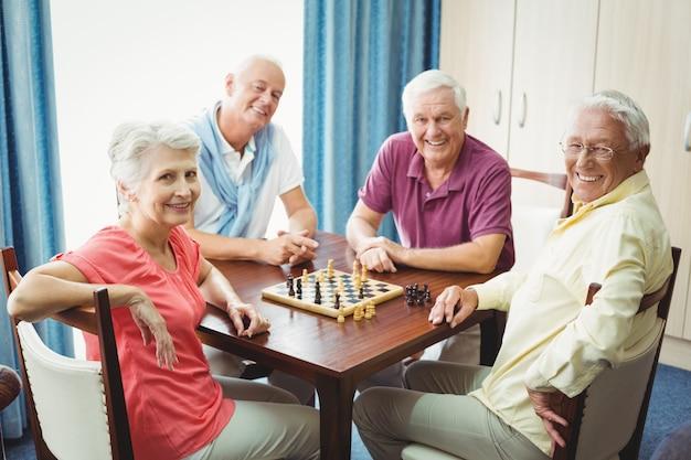Senioren schaken