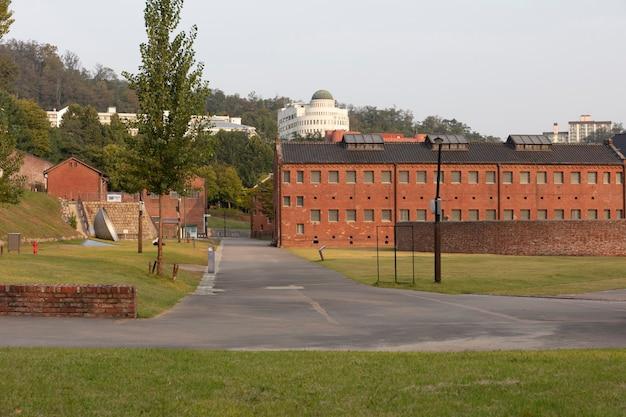 Seodaemun gevangenisgeschiedenismuseum in seoel, zuid-korea.