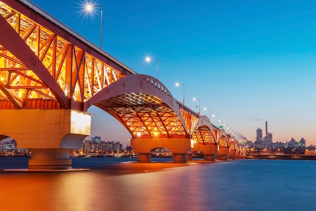 Seongsan-brug in korea