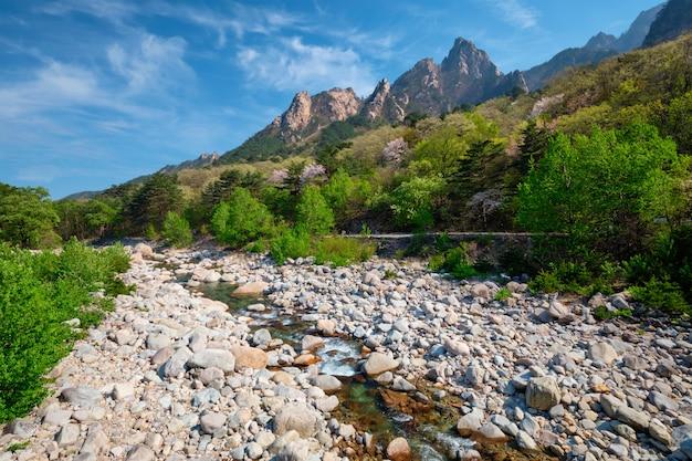 Seoraksan national park, zuid-korea