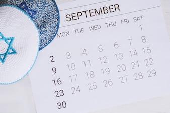 September-kalender met Keppelah