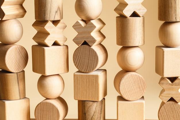 Sequencing blocks leermiddel voor het leren van vormen