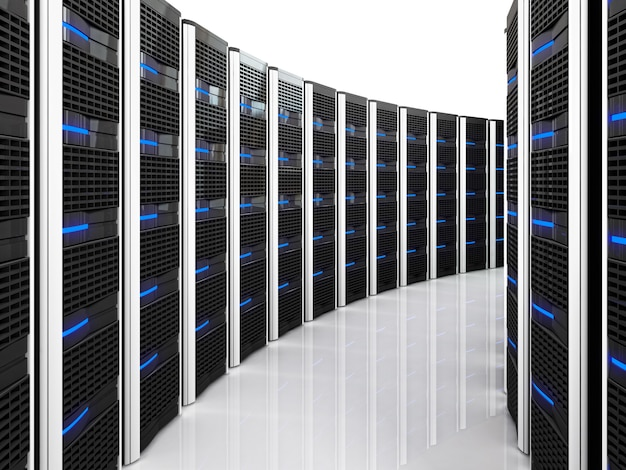 Server 3d achtergrond