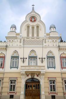 Servisch-orthodox bisschoppelijk paleis in timisoara, roemenië