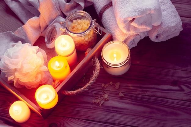Set badhuisaccessoires voor spa