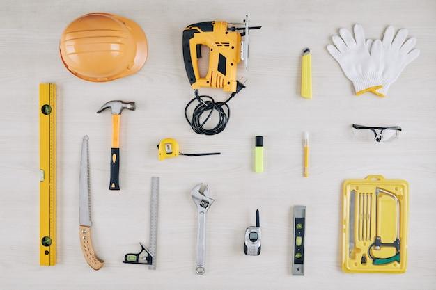 Set bouwhulpmiddelen