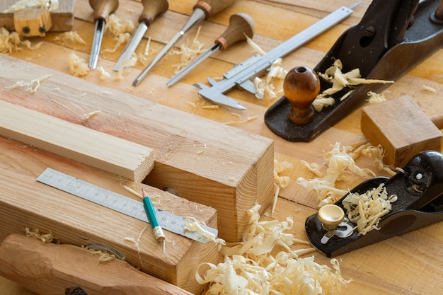 Set houtbeitel voor houtsnijwerk