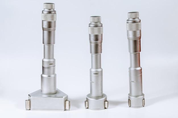 Set kalibratie micrometers apparaat voor het nauwkeurig meten van de diameter