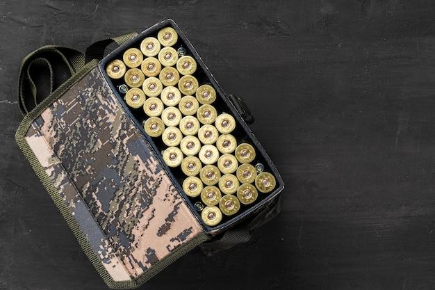 Set patronen voor een jachtgeweer