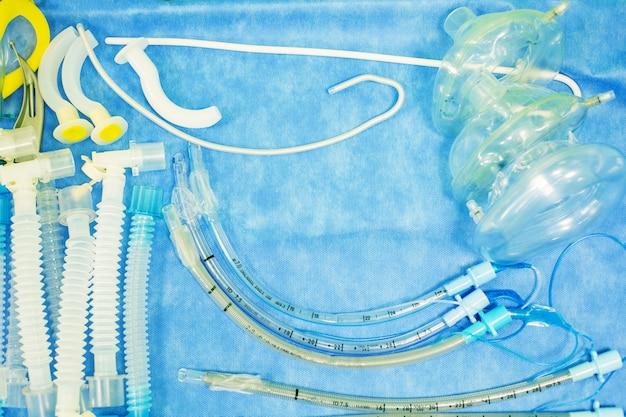 Set tools voor intubatie luchtpijp