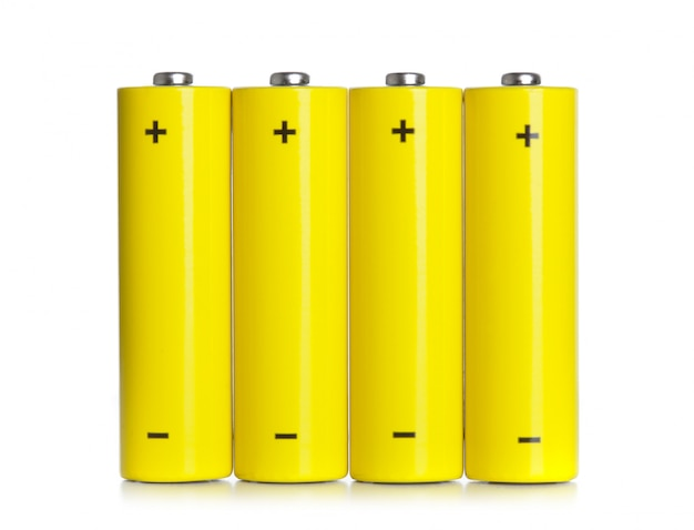 Set van aa-batterijen
