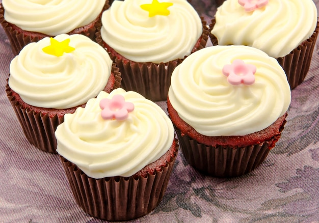 Set van cupcakes