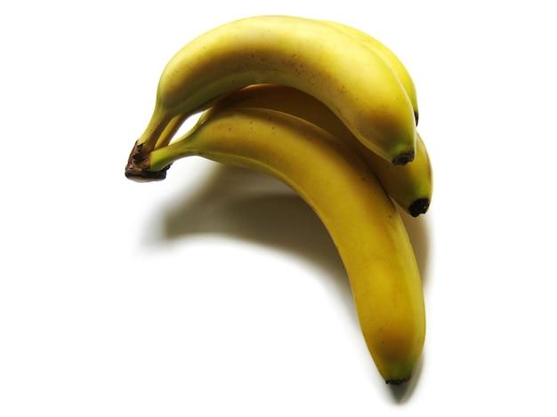 Set van gele bananen