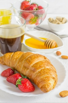Set van gezonde ingrediënten voor het ontbijt