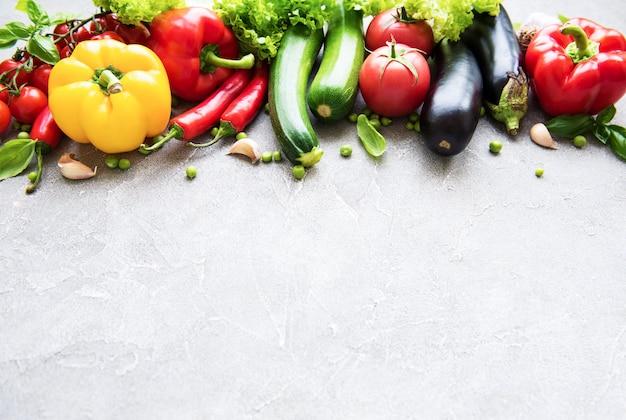 Set van groenten
