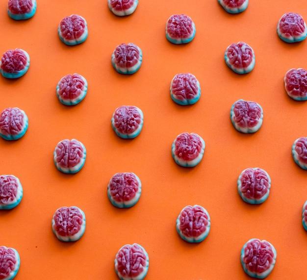 Set van halloween-snoepjes