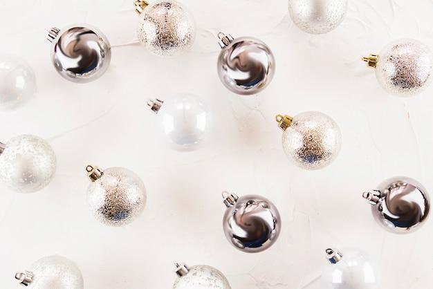 Set van kerstballen