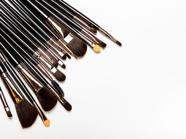 Set van make-up kwasten