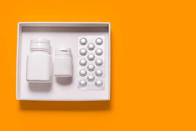 Set van tabletpakket